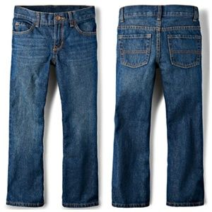 Children's Place • Boys' Basic Bootcut Jeans • 16